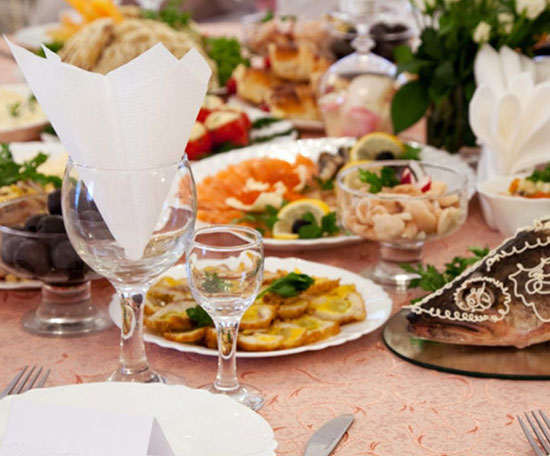 wedding catering services in California
